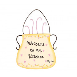 Decoration Welcome to me kitchen MyDoll GW006