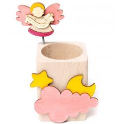 Pink angel pen holder Il Pianete delle idee