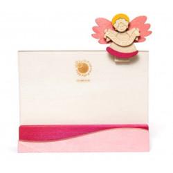 Photo holder pink angel Il pianeta delle Idee