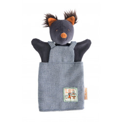 Hand puppet Loup Moulin roty 632203
