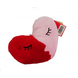 Soft Toy Red Heart and Pink Plush & Company San Valentino