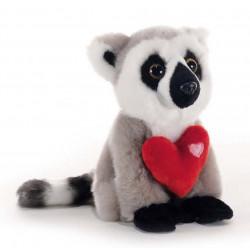 Soft Toy lemur with heart Plush & Company 05132