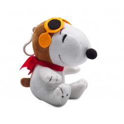 Snoopy plush toy H 10 cm official keychain