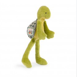 Plush toy turtle Moulin roty 632074 H 30cm