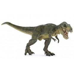 Figurine Green running T-Rex Papo France 55027