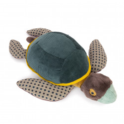Plush toy turtle large Moulin Roty 719029