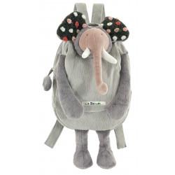 Elephant backpack Moulin Roty 671102