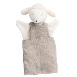 Marionnette de mouton Albert Moulin Roty 632192 H 25 cm