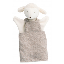 Sheep Puppet Albert Moulin Roty 632192 H 25 cm