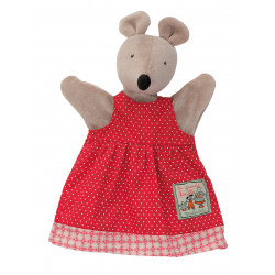 Mouse Puppet Nini Moulin Roty  632181