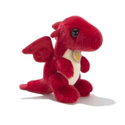 Soft toy dragon red Plush & Company 10018
