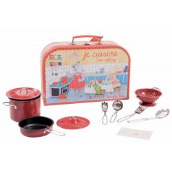 Valise bébé cuisinier Moulin Roty 632405