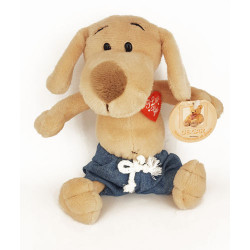 Soft Toy Dog i love you DE.CAR H16 cm