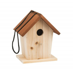 Wooden bird house Moulin...