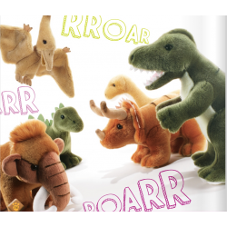 soft Toy Dinosaur Plush &...