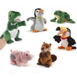 Hand Puppet soft toy Animal...