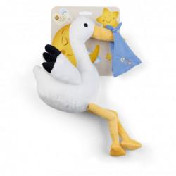 Soft toy Blue Stork Birth Baby Plush & Company 07429