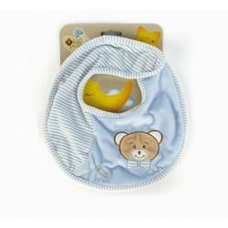 Baby Care Bib boy Plush &...