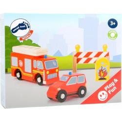 Fire Brigade Set Small Foot World 10805