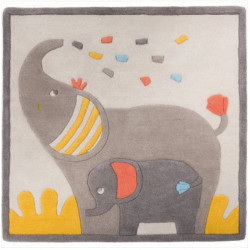 Baby Elephant Bedroom Carpet Moulin Roty 658280
