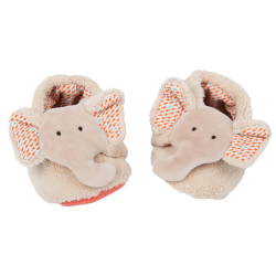 Chaussures bébé éléphant 0-6 mois Moulin Roty 658010