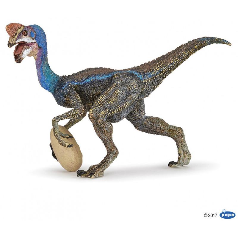 Figurine Blue oviraptor 55059 Papo