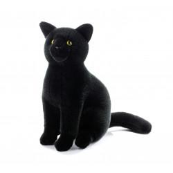 Soft Toy Black Cat Plush &...
