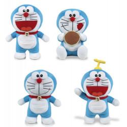 Peluche chat Doraemon H 20 cm