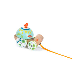Pull-along toy tortoise Moulin Roty 668360