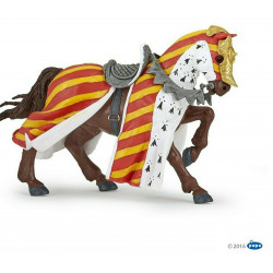 Cavallo da torneo Papo 39945
