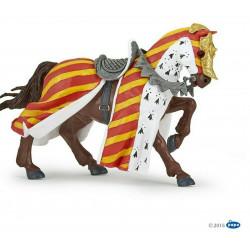 Statuina Cavallo da torneo Papo 39945