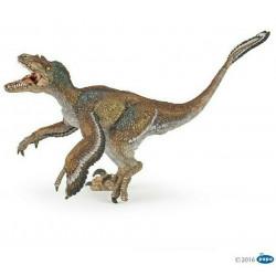 Figurine Feathered velociraptor Papo 55055