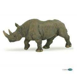 Statuina Rinoceronte nero Papo 50066