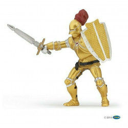 Statuina Cavaliere in armatura dorata Papo 39778