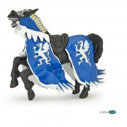Statuina Cavallo del Re Dragone Blu Papo 39389