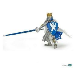 Statuina Re Dragone Blu Papo 39387